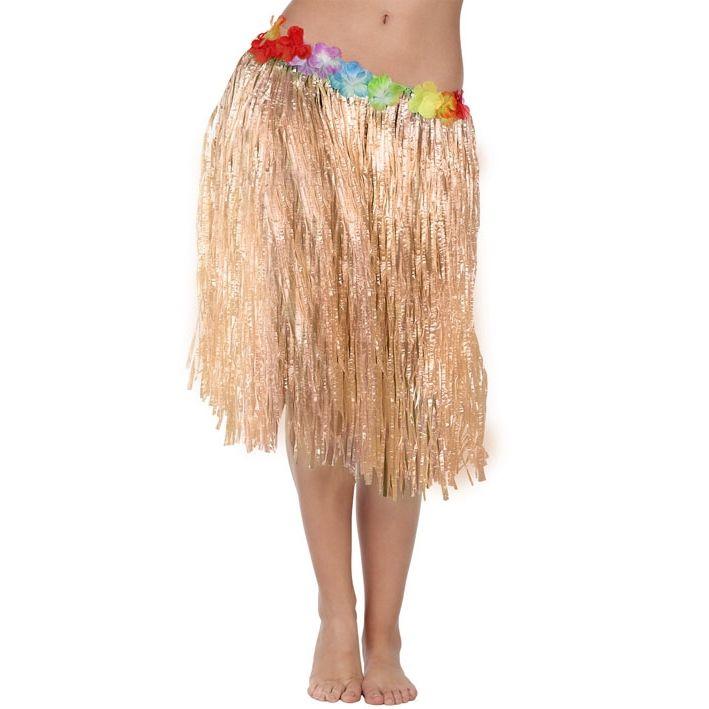 Falda Hawaiana 41 cm - Comprar Online {Miles de Fiestas}