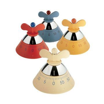 Alessi A09 Kitchen Timer - Modern and contemporary kitchen accessories at SWITCHmodern.com