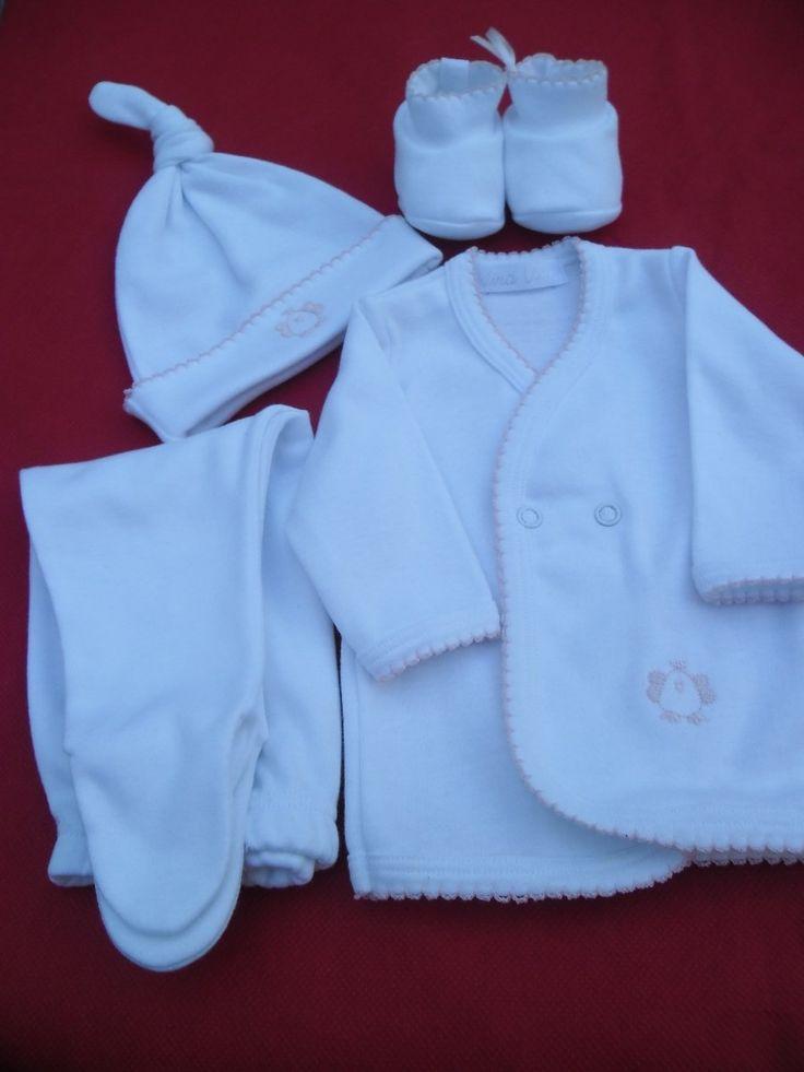 ropa para bebes recien nacidos de algodon