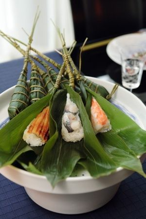 Japanese Rice-Dumplings Wrapped in Bamboo Leaves. ☚