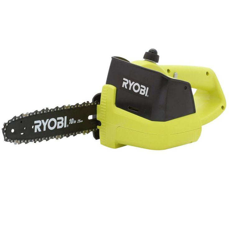 Ryobi One+ 10 in. 18-Volt Electric Cordless Chainsaw - Battery and Charger Not Included