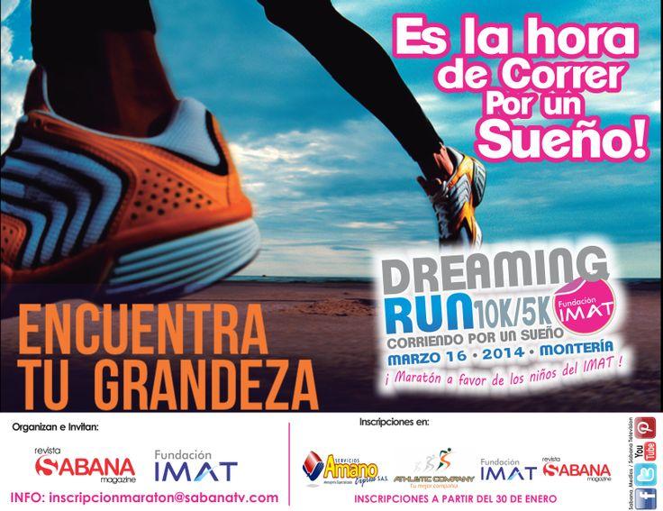 Inscripciones en: Gimnasio Athletic Company, Servicio a Domicilio AMANO, Fundación IMAT, Sabana Magazine.MONTERÍA -CÓRDOBA / COLOMBIA