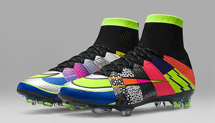 464a5ef5bfca Nike What The Mercurial celebrates 16 previous colorways of the Nike  Mercurial soccer cleat that will be limited to only pairs that drops on  May. Top 10 ...