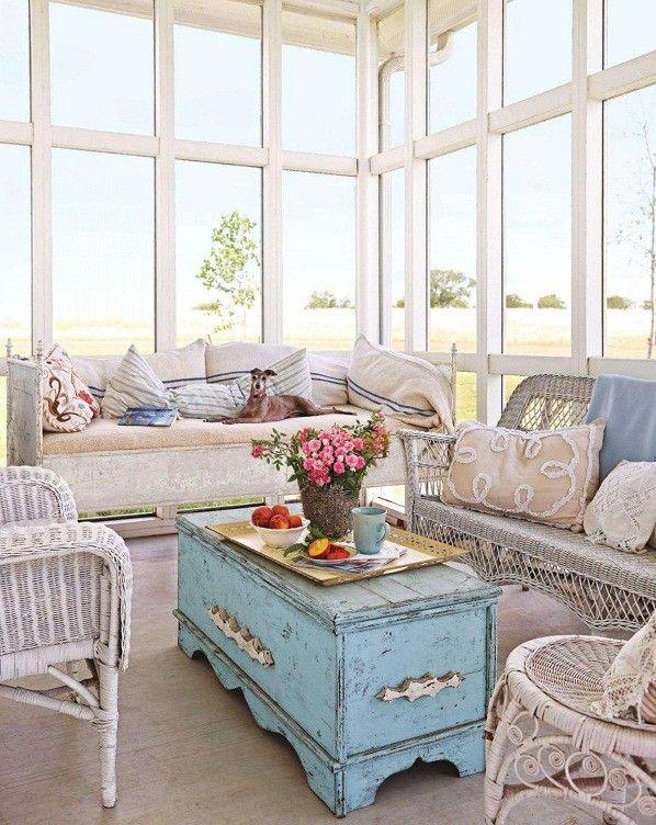 17 mejores ideas sobre muebles de mimbre pintados en pinterest ...