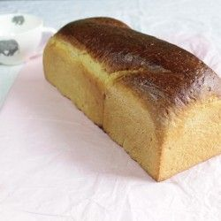 Victorian Milk Bread - A traditional British bread that's made with milk and has a soft and velvety texture.