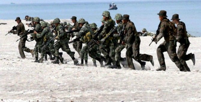 4,000 American soldiers and Filipino upcoming joint military exercise