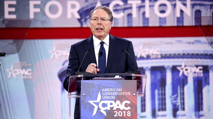 National Rifle Association CEO Wayne LaPierre on Thursday warned conservatives that socialists are smearing gun rights advocates and seeking to eliminate their rights.
