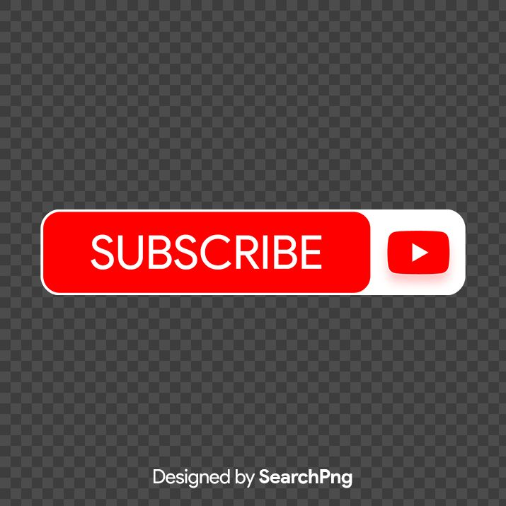 Subscribe Youtube Red Button Png Image Free Download Searchpng Com Png Images Youtube Banner Design Design Pattern Art