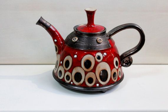 Hey, I found this really awesome Etsy listing at https://www.etsy.com/listing/218847324/ceramic-coffee-pot-pot-teapot-handmade