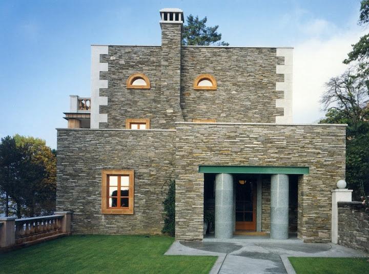 Villa Alessi, Aldo Rossi, Architect, Lago Maggiore, 1989