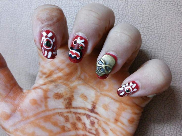 Perfect Halloween Nail Art Videos Gallery Nail Art Design Ideas