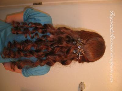 Bandana Curls or Rag Curls for Long Hair