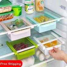 Refrigerador Preservación Separador Capa multiuso de Almacenamiento En Rack 2 Unids/lote Clasificación Caja de Almacenamiento Cajón Del Refrigerador(China (Mainland))