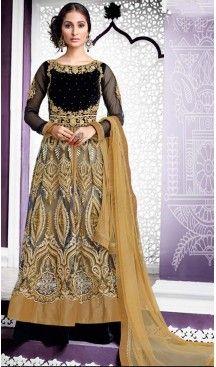 Anarkali Net Designer Wear Lehenga Suits in Black Color | FH530980207 #indian , #salwar , #kameez , #dresses , #suits , #women , #ledies , #designer , #clothing , #boutique , #online , #shopping , #anarkali , #churidar , #palazo , @heenastyle , #dupatta , #fashion , #mode , #henna , #mehendi, #lehengasuit, #fashion, #net