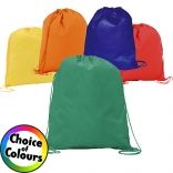 The Rainham Drawstring Bags comes in a selection of vibrant colours which are ideal for matching to your company branding. They are made from high quality polypropylene which is highly durable and excellent for printing. Check out our full selection of promotional drawstring bags today!