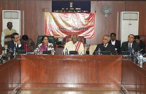 Bandaru Dattatreya Introduces Web Service for Employer Registration under ESI Act