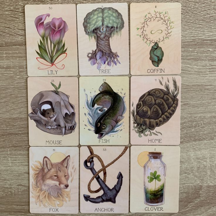 Methods of with cards read lenormand