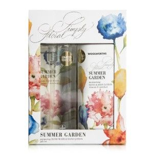Simply Floral Hand Wash Set