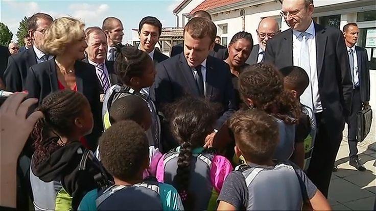 """""""Pourquoi elle n'est pas là ta femme"""": quand Macron répond aux questions indiscrètes des enfants"""