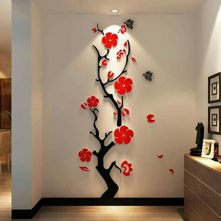 Wall decor. 8 best wall designs images on Pinterest   Interior ideas  Wall