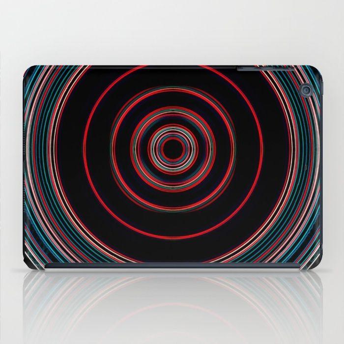 red lens iPad Case