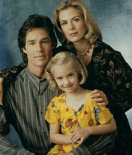 Brooke & Ridge with her daughter Bridget when she was a little girl - the-bold-and-the-beautiful Photo