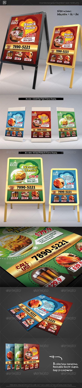 Restaurant Poster Template PSD. Download here: http://graphicriver.net/item/restaurant-poster-template/6434365?ref=ksioks