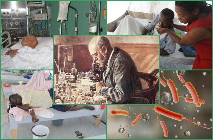 Эпидемии холеры, болезни от грязи