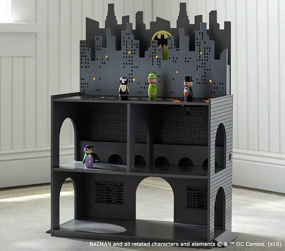 Super cool Gotham City Play Set from Pottery Barn Kids, even though it's $200.