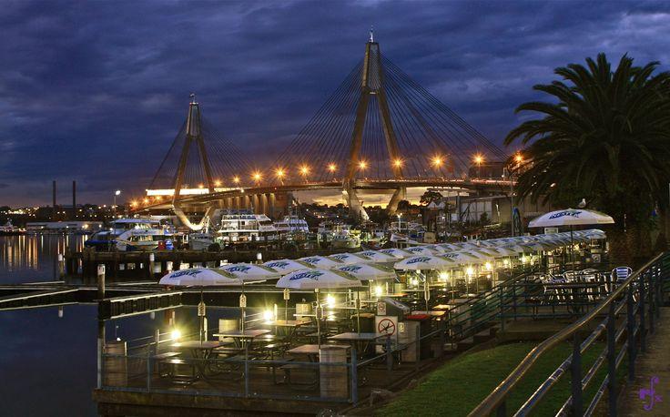 Sydney Fish Markets & Anzac Bridge