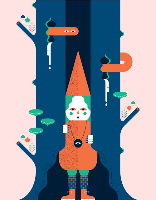An excellent gif from one of our favourite illustrators Andrew...
