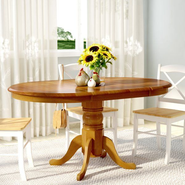 You Ll Love The Gennevilliers Extendable Dining Table At Wayfair Great Deals On All Furniture Products Dining Table Dining Table In Kitchen Oak Dining Table