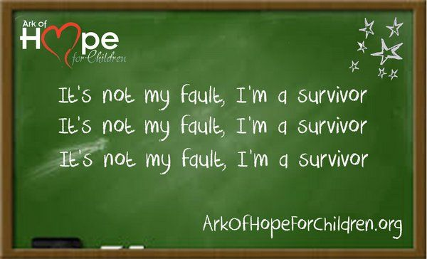 I am not what happened to me, I am what I choose to become ~CG Jung  Ark of Hope For Children is #RemovingChains of #ChildAbuse, #ChildTrafficking and #Bullying www.arkofhopeforchildren.org