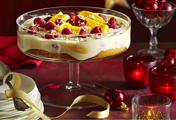 You'll go coco-nuts over this tropical trifecta – and it's super easy to prepare! With no cooking involved, you can serve this recipe up for Christmas dessert!