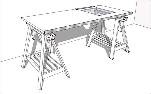 Plus de 1000 id es propos de d co sur pinterest urban outfitters espace - Table de dessin ikea ...