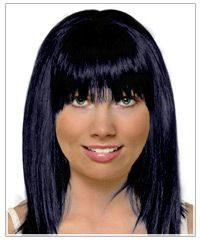 Square face shape long hairstyle
