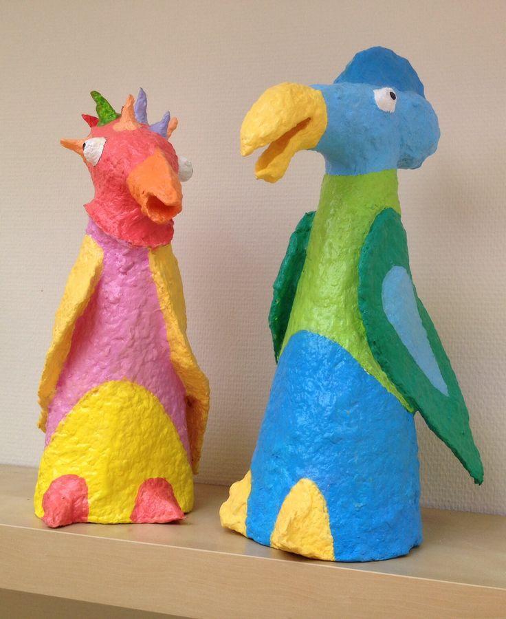 """Rare vogels"" €20,- per stuk"