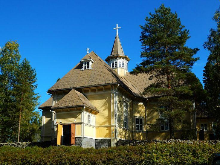 Töysän kirkko. The Lutheran Church Töysä, South Ostrobothnia province of Western Finland. - Etelä-Pohjanmaa,