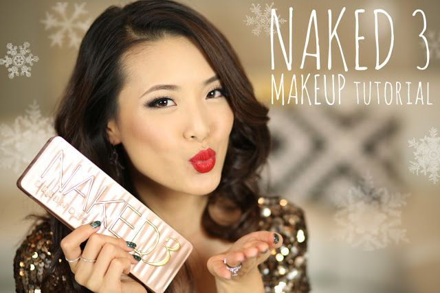 TUTORIAL: Urban Decay Naked 3 Holiday Makeup