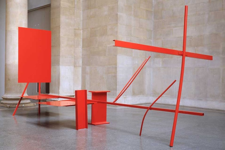 Anthony Caro . early one morning, 1962