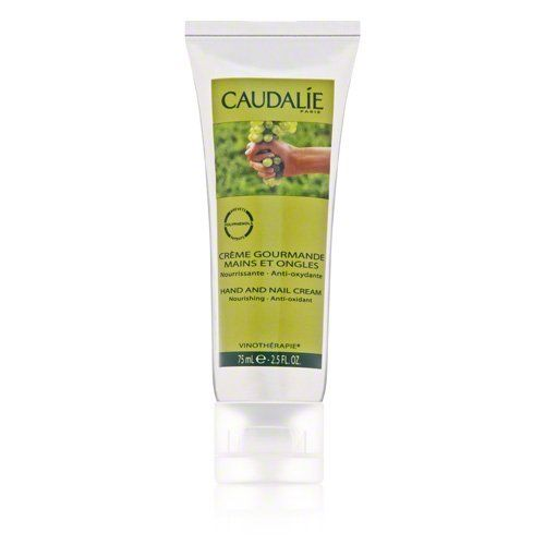 Caudalie Hand And Nail Cream 2.5 oz by Caudalie. $19.00. What it is:A cream for those who want a nourishing, antiaging treatment for hands and nails.What it is formulated to do:Protects the skin against aging as it hydrates, soothes, and nourishes. Nails are strengthened and invigorated without a greasy film.What it is formulated WITHOUT:- Parabens- Synthetic Dyes- Petrochemicals- Phthalates- GMOs- Triclosan What else you need to know:Infused with a sweet orange fragrance, this...