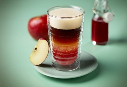 Pomme d'Api : café glacé à la pomme
