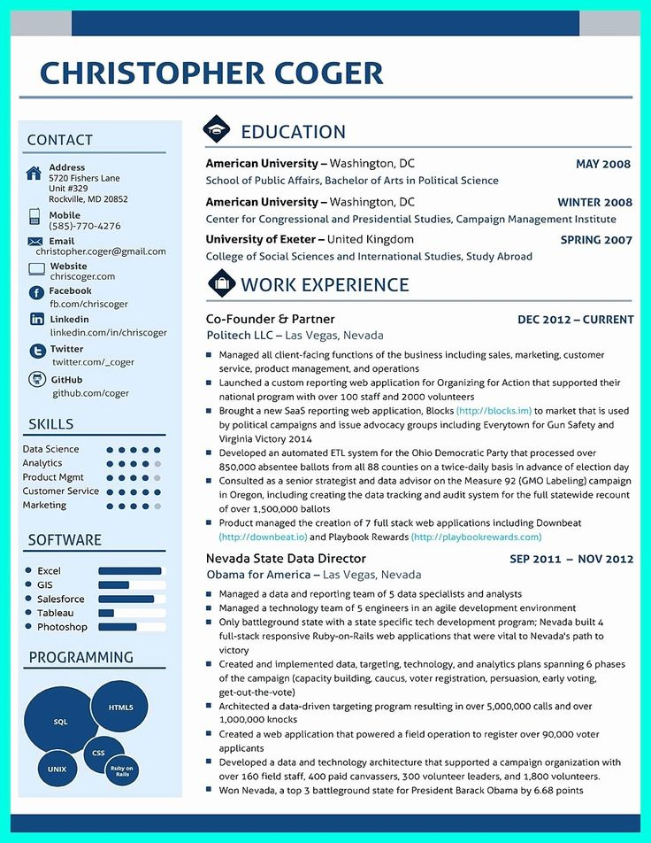 Data Scientist Entry Level Resume Beautiful Pin On Resume