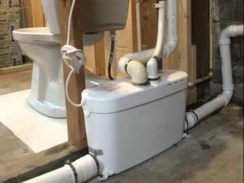 Liberty Pumps Ascent II 1.28 GPF Macerating Toilet System ...