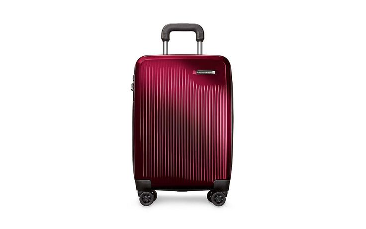 Briggs & Riley International Carry-on Spinner | These patterned, metallic, and bold-colored suitcases will stand out at the baggage claim.