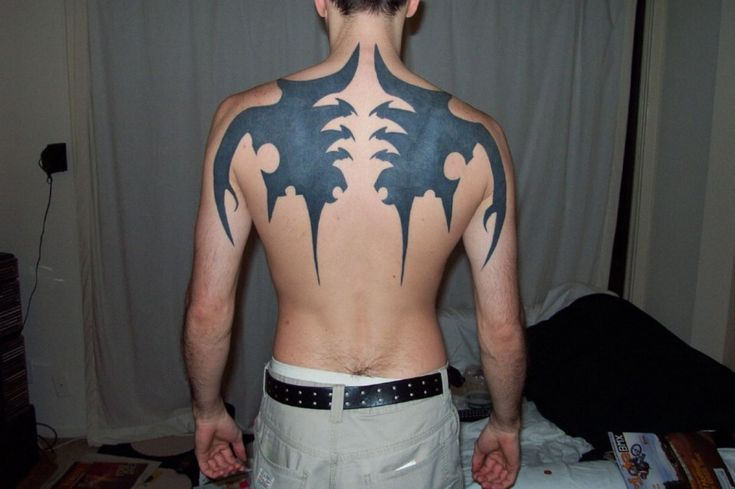 Wie Sie mit minimalem Budget an Tribal Tattoo On Back teilnehmen können | Tribal Tattoo auf …