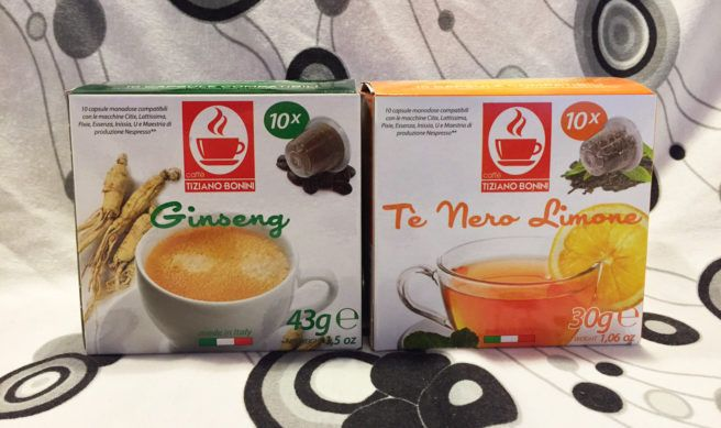 caffe.com caffè Bonini: capsule di caffè e bevande compatibili con sistema Nespresso, tisane, ginseng, cioccolato caldo, caffè aromatizzati.