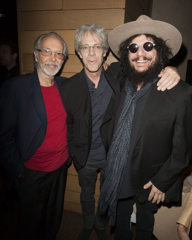 Three of a kind. Herb Alpert welcomes Stewart Copeland and Don Was to his Vibrato Grill Jazz restaurant for a special performance of his new album, Steppin' Out, on Oct. 3 in Los Angeles