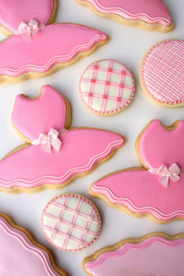 Decorated Tutu Cookies