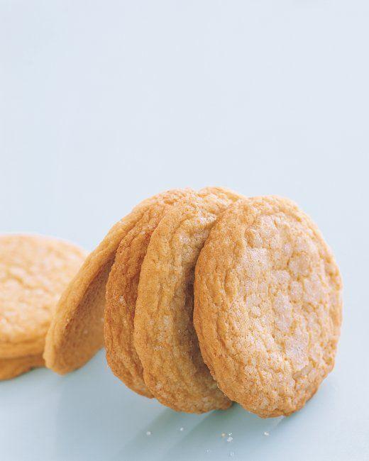 Old-Fashioned Lemon Sugar Cookies